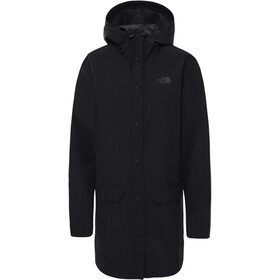 The North Face Woodmont Rain Jacket Women, negro